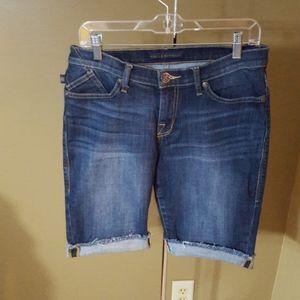 Rock & Republic Bermuda Jean Shorts